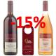 Rabattpaket Rot/Rosé mit 12 Flaschen und 12 Geschenkanhängern